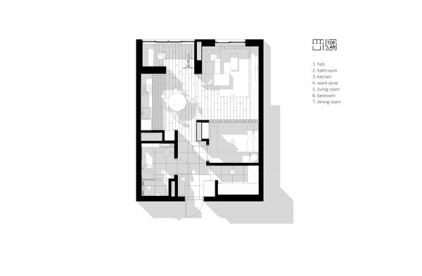 5 Studio Apartments That Use Space Splendidly Free Autocad Blocks Drawings Download Center