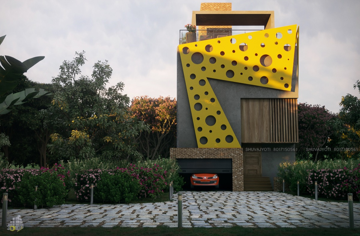 50 Stunning Modern Home Exterior Designs That Have Awesome Facades