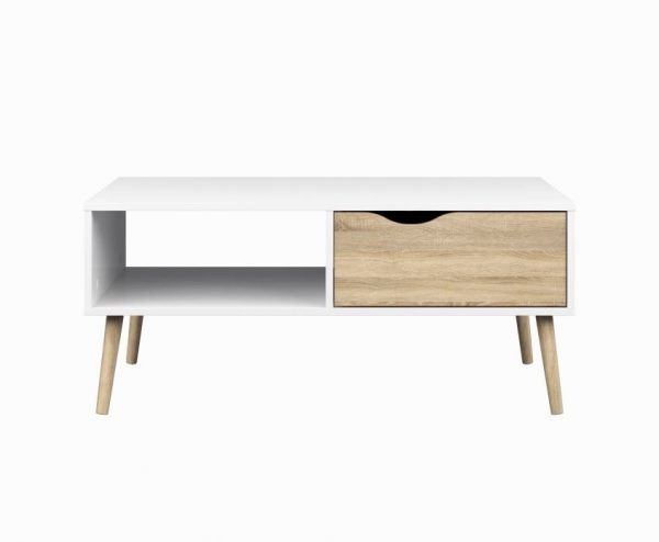 It Scandinavian Style Coffee Table Scandinavia Is Renowned For Blending Wood And White