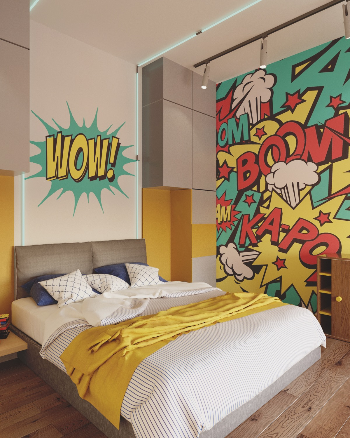 Comic Book Room Ideas: Stylish Bedrooms Designed For Kids