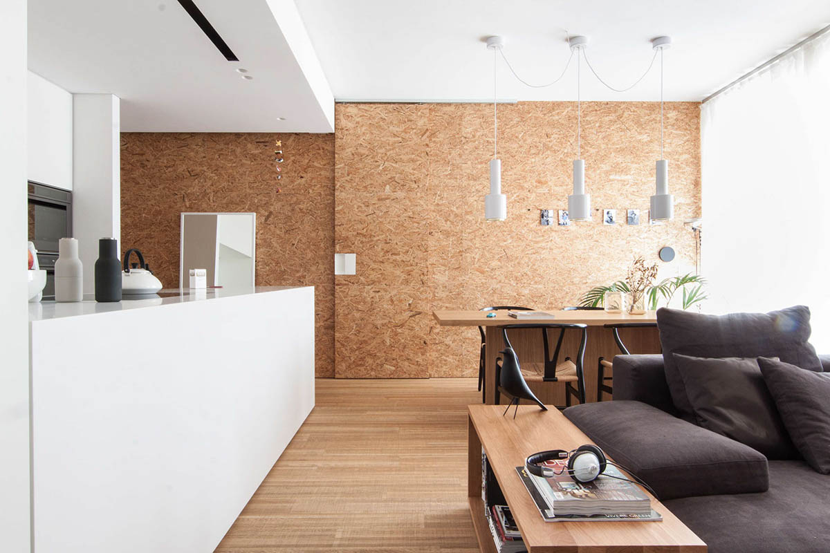 Interior Design On Wall At Home: 3 Light And Bright Apartments Celebrating White Space