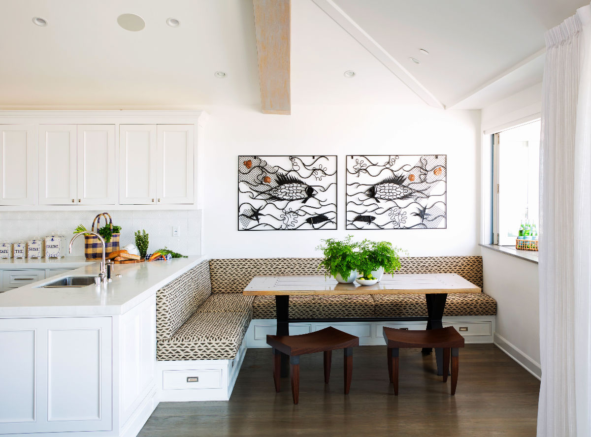 22 beautiful breakfast nooks that add to your kitchen 39 s charm - What is a breakfast nook ...