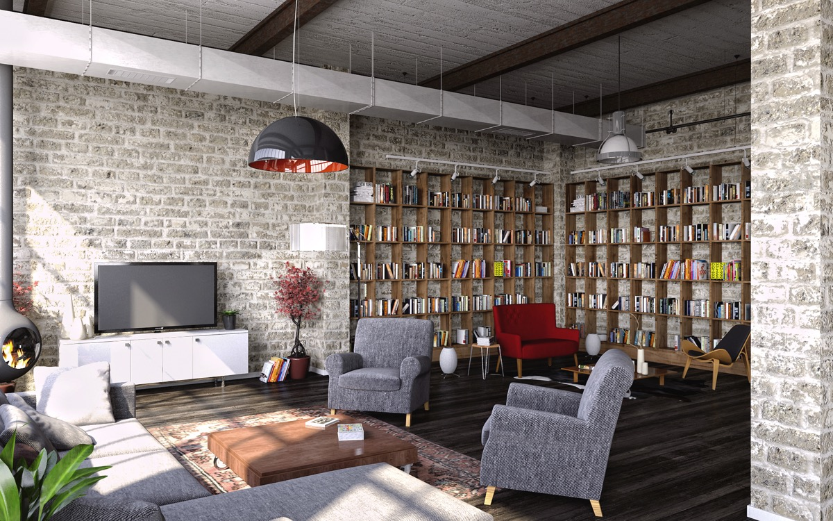 Industrial Style Living Room Design The Essential Guide: Industrial Style Living Room Design: The Essential Guide