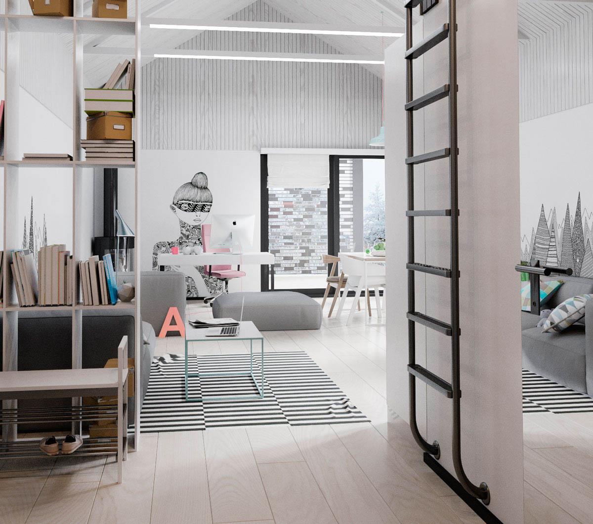 Scandanavian Interiors: 3 Soothing Scandinavian Interiors