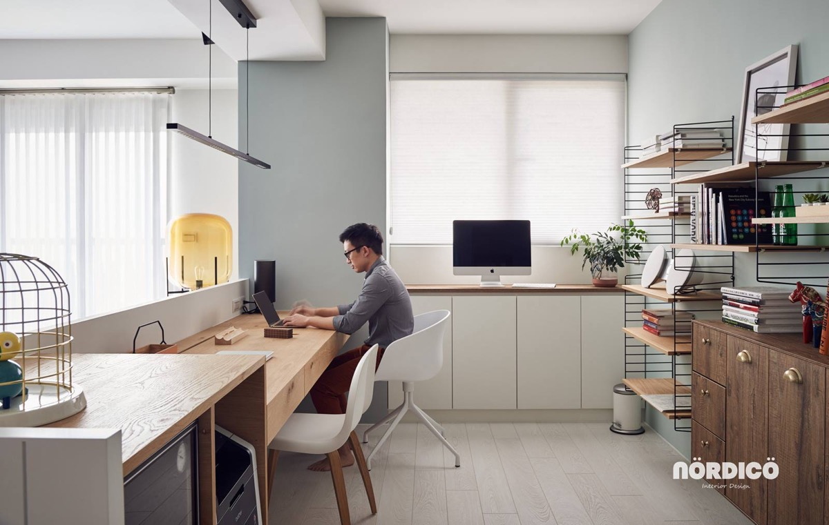 home office for two. 26 |; designer: nordico home office for two