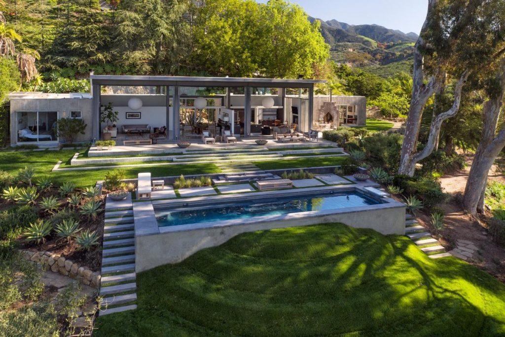 Natalie Portmans Stunning New House By Barton Myers