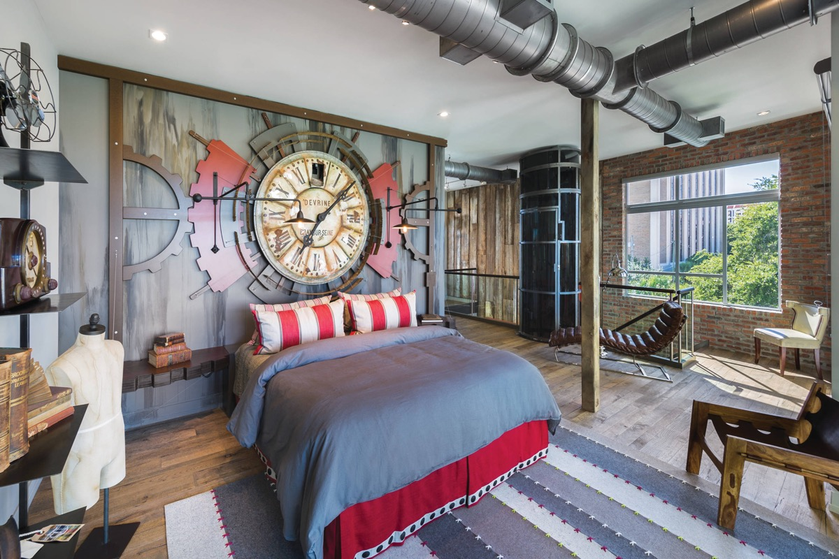 Industrial Style Bedroom