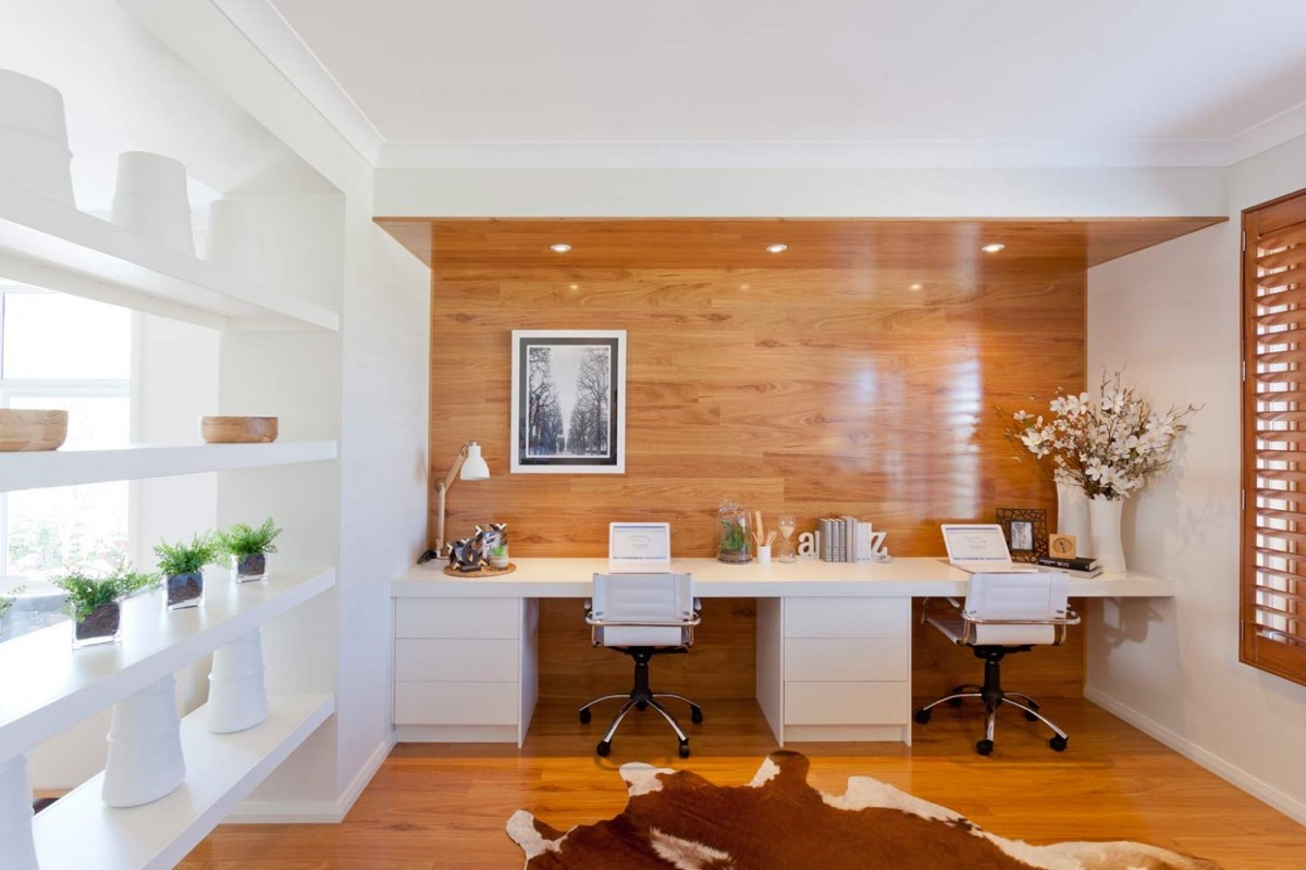 Hom Office Furniture: 36 Inspirational Home Office Workspaces That Feature 2