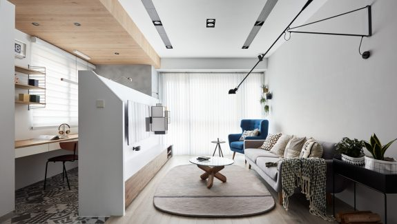 A Bright, Airy Endangering with Lots of White