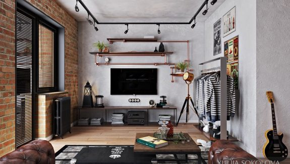 How To Design Style Bachelor Pads 4 Examples