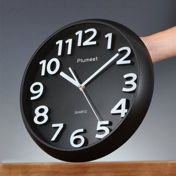 It Large Kitchen Clock Want The Standard Black And White Design