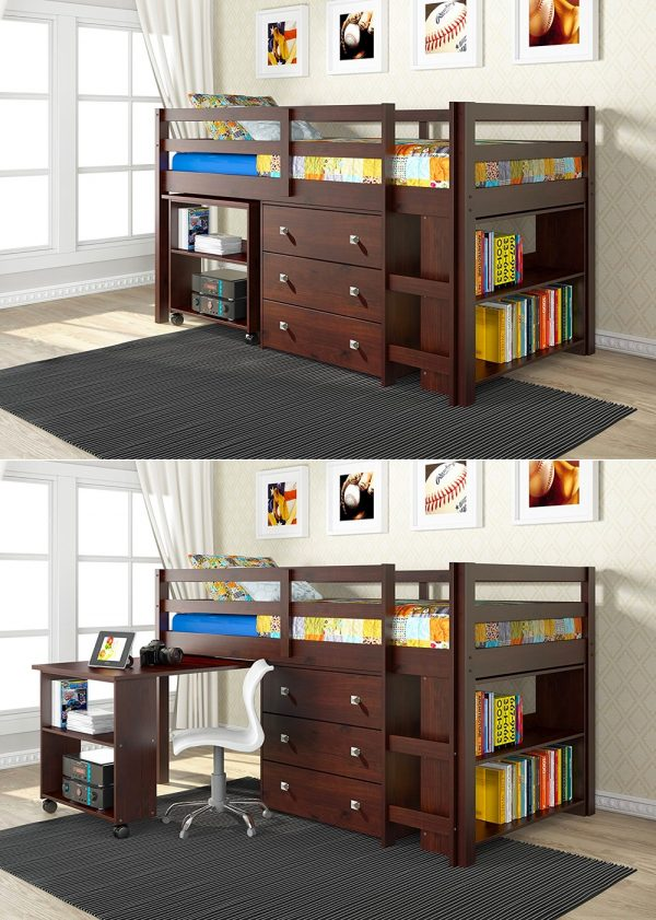 40 Beautiful Kids\' Beds That Offer Storage With Sweet Dreams