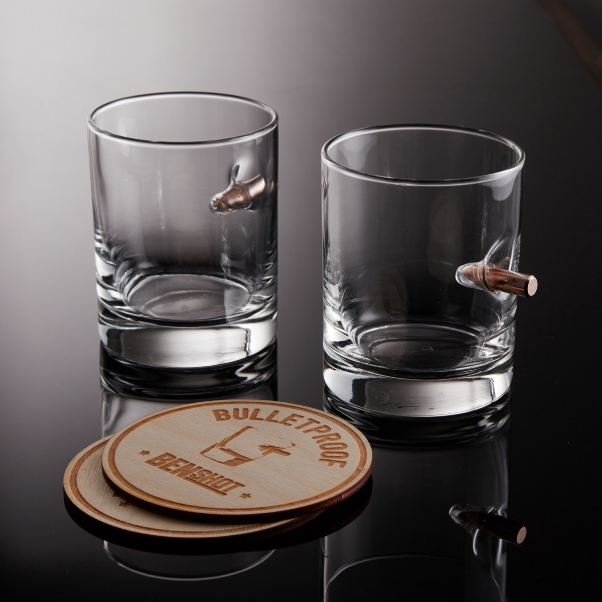 Cool Product Alert Benshot Bullet Rocks Glass