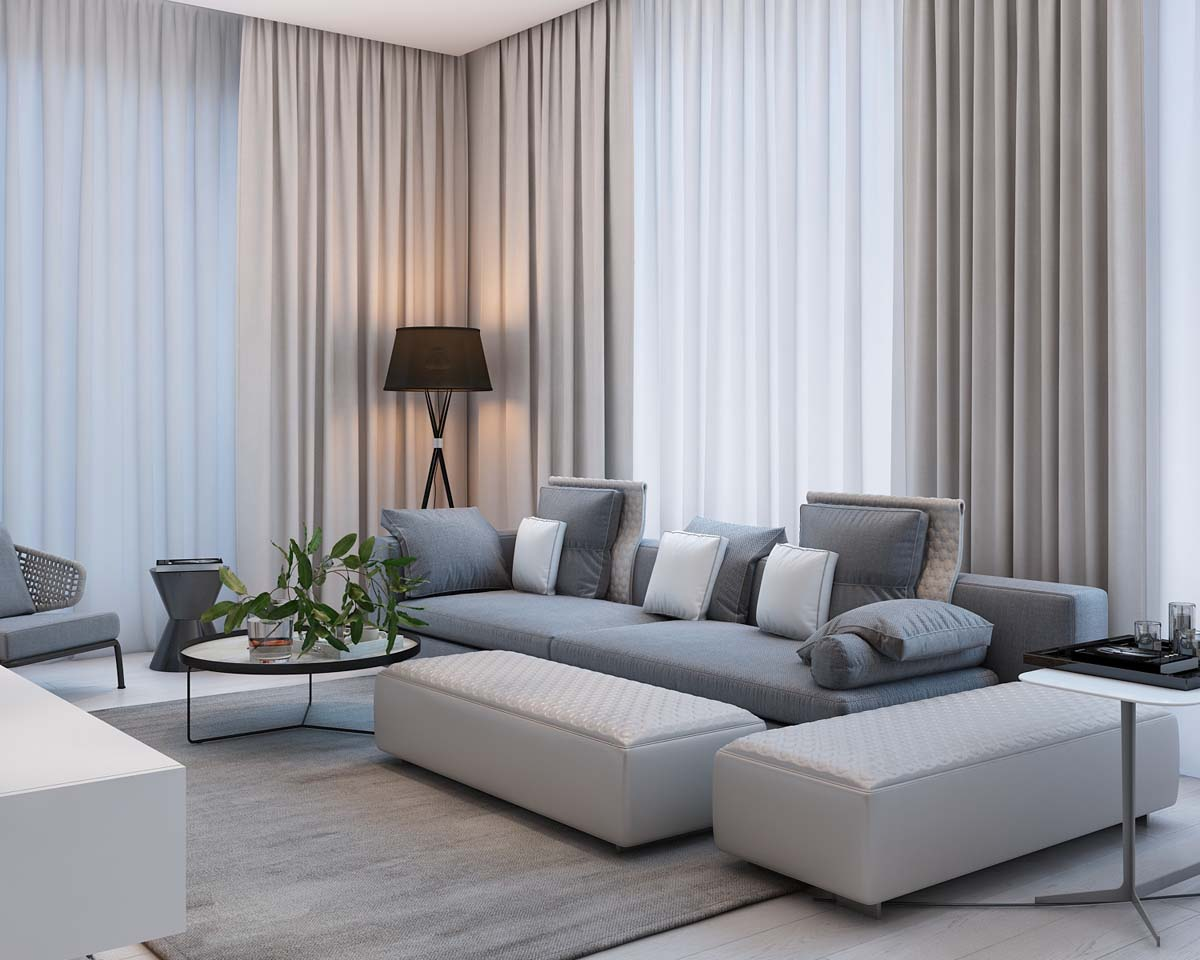 A Simple, Modern Apartment in Moscow