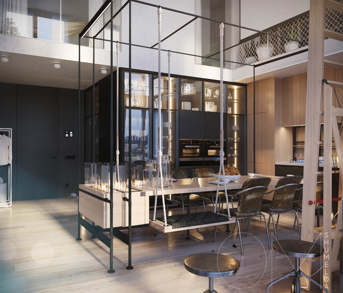 House Decorationdesign: 4 Chic Homes That Utilize Lofted Spaces