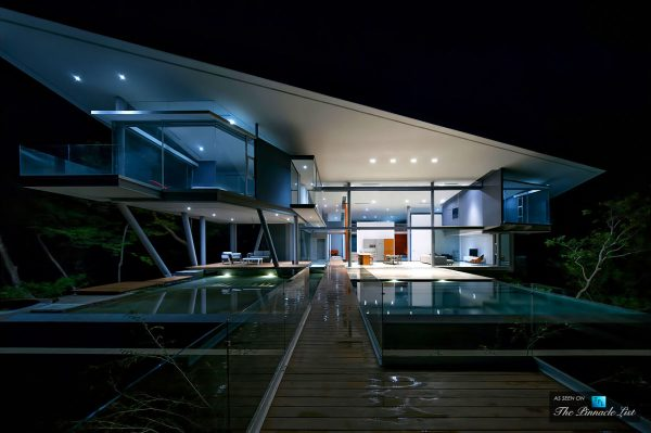 The breathtaking indios desnudos luxury residence in costa rica a sculptural cliffside home with a