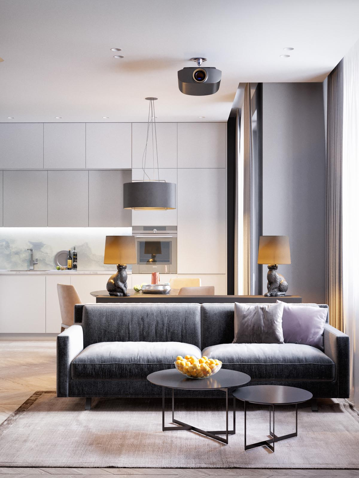 Home Design Under 60 Square Meters 3 Examples That Incorporate Luxury In Small Spaces