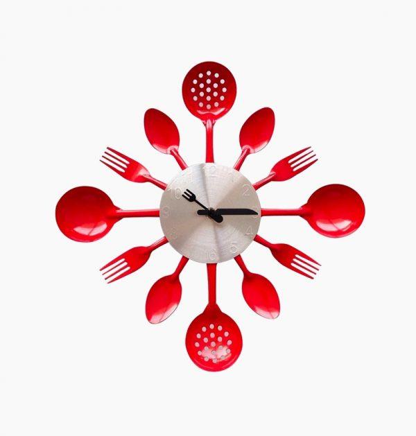 It Cutlery Kitchen Wall Clock