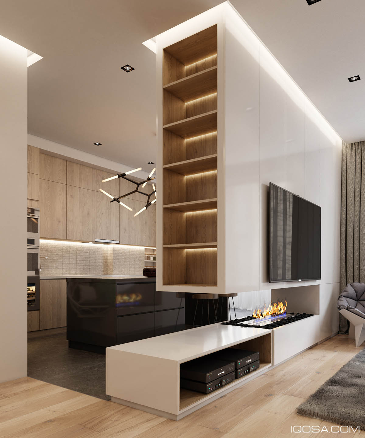 Luxury Apartment: Home Design Under 60 Square Meters: 3 Examples That