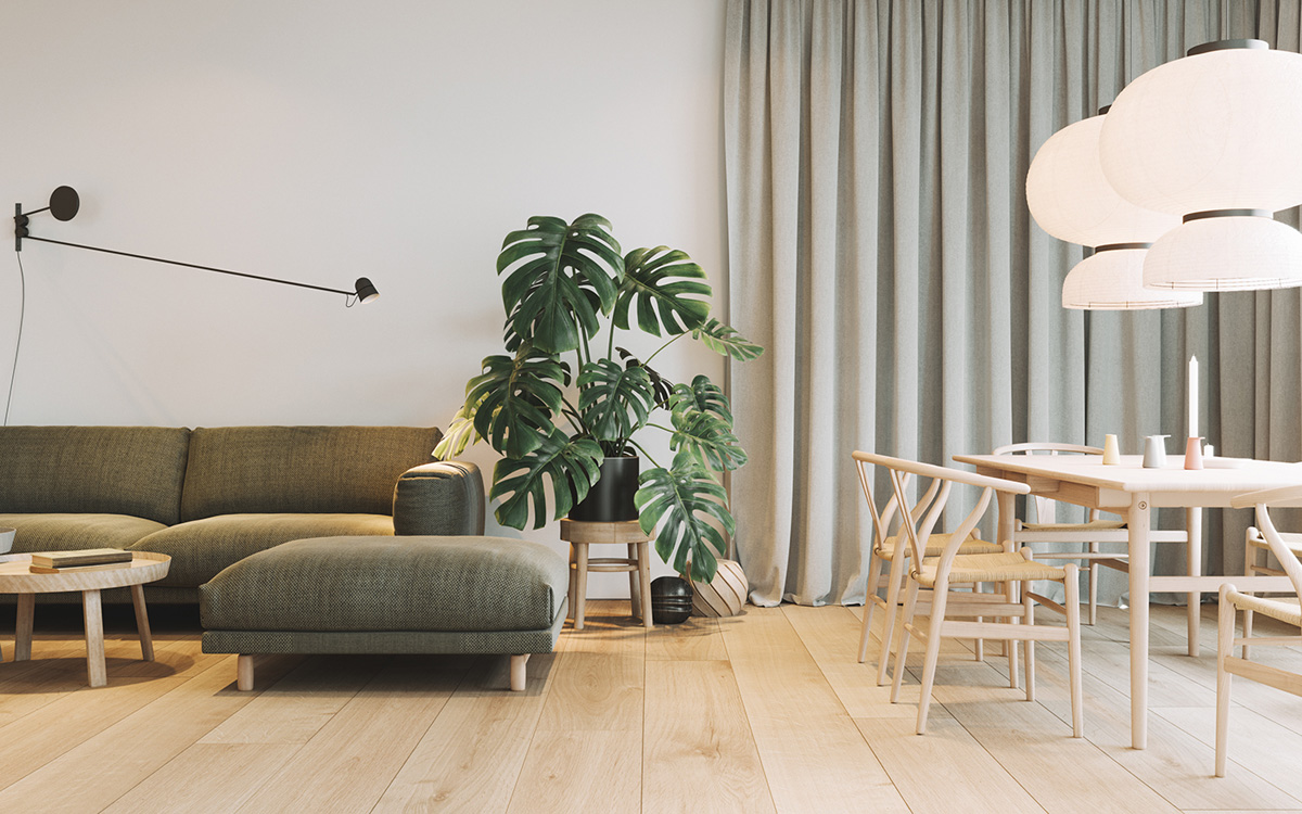 Modern Contemporary Interior Design three contemporary interiors making the most of light wood