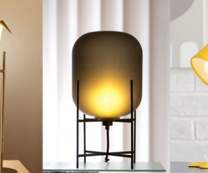 50 Uniquely Cool Bedside Table Lamps That Add Ambience To Your Sleeping E