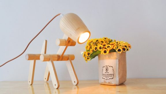 Cool product alert a dog like desk lamp