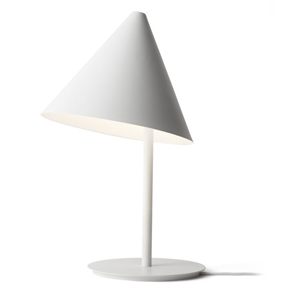 It Conical White Table Lamp