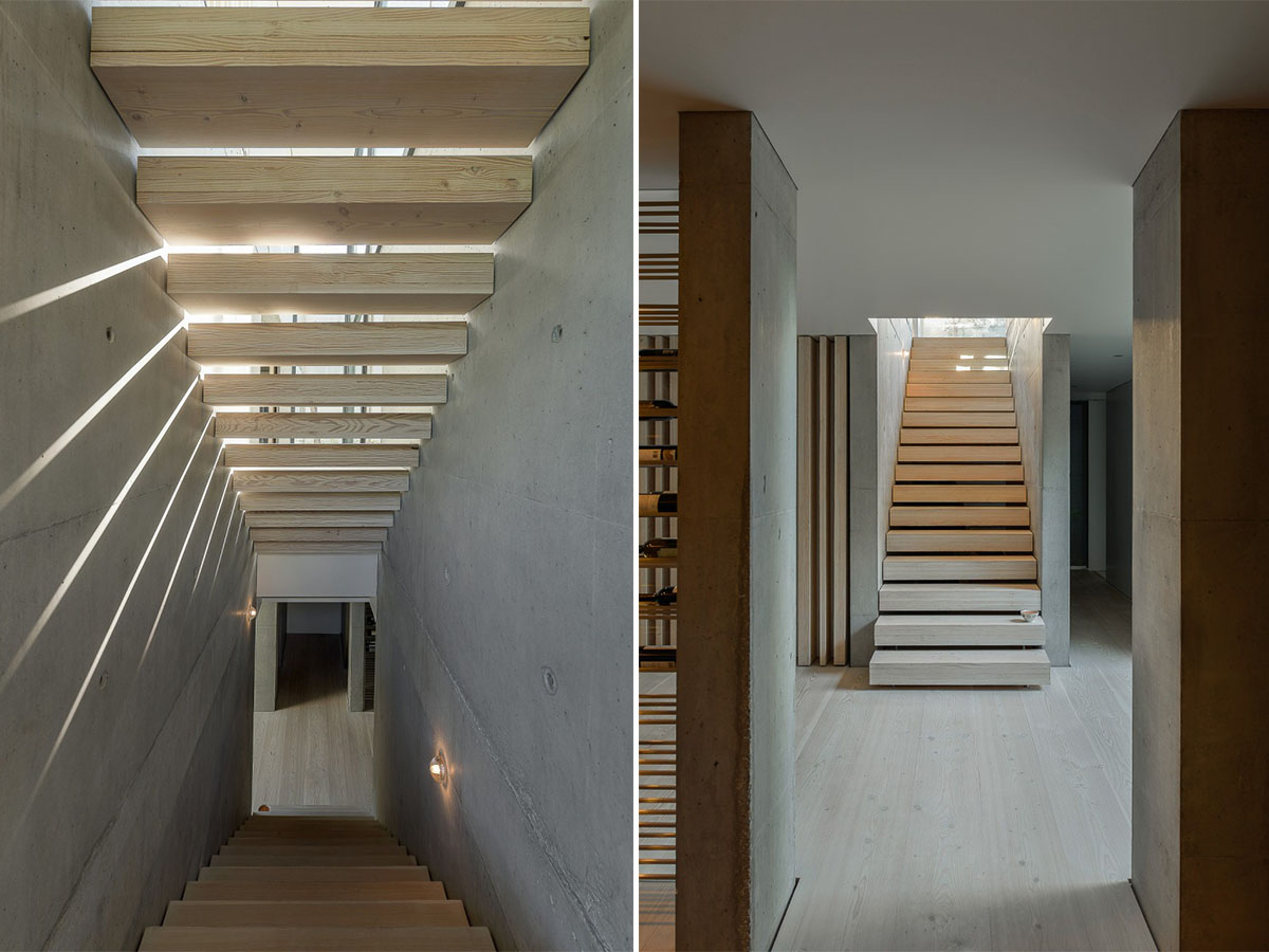 ... This Home A Modern Gem. If You Are Looking For Some Serious Staircase  Inspiration Be Sure To Check Out Our Post: 25 Unique Staircase Designs To  Take ...