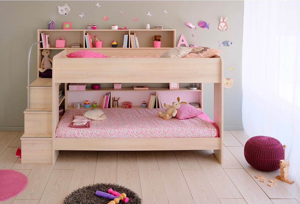 Picture of: 40 Beautiful Kids Beds That Offer Storage With Sweet Dreams