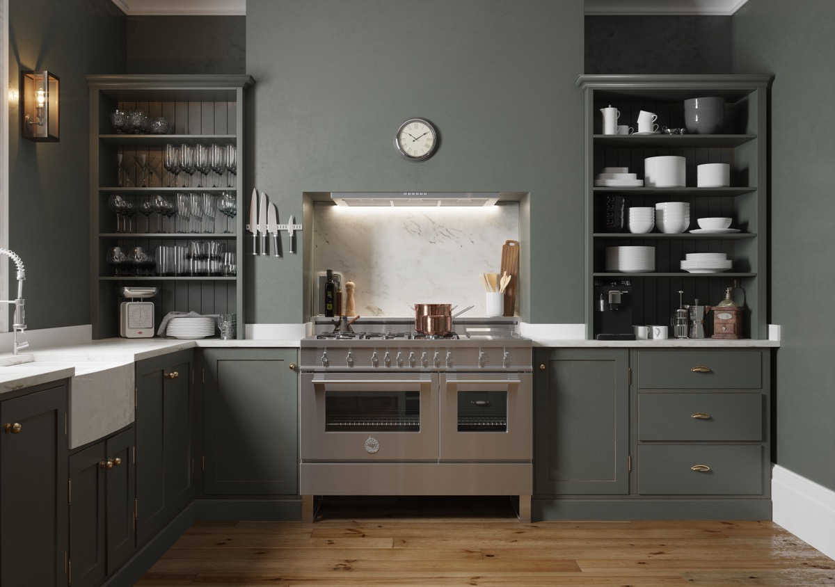 Open Kitchen Shelving 40 Classy Examples That Show How