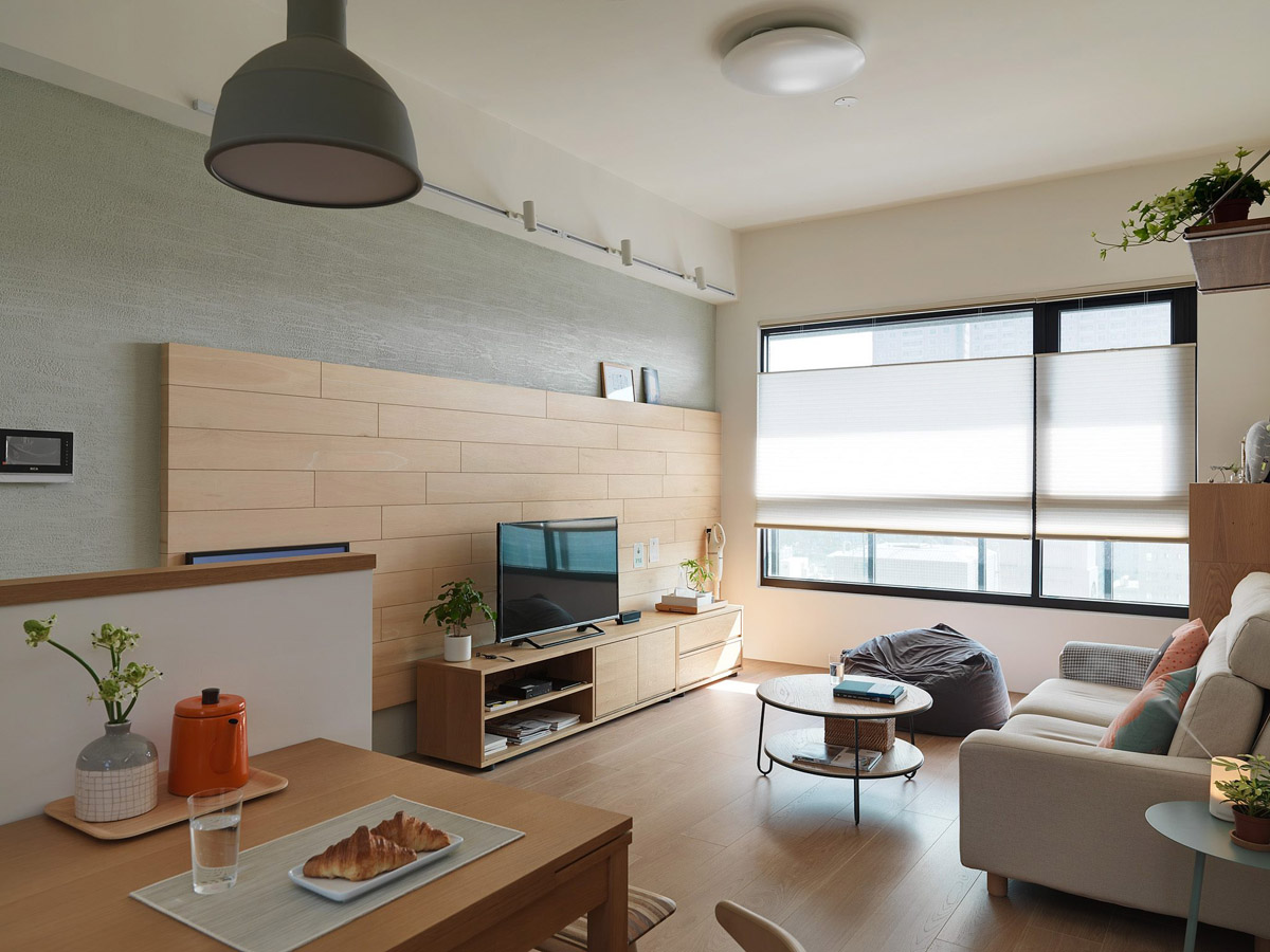 2 Bedroom Modern Apartment Design Under 100 Square Meters 2 Great Examples