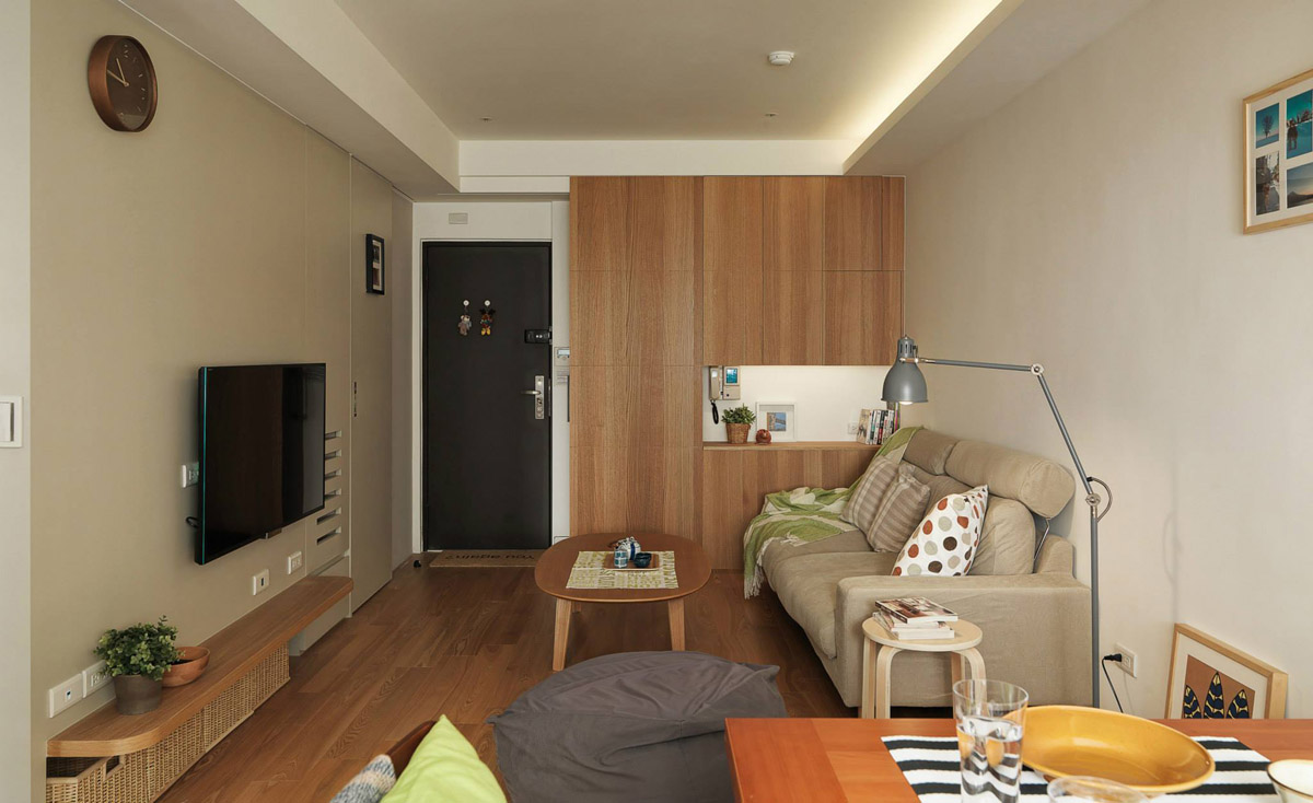 Home Designing 3 Small Apartments That Make The Best Of The Space They Have Contemporary
