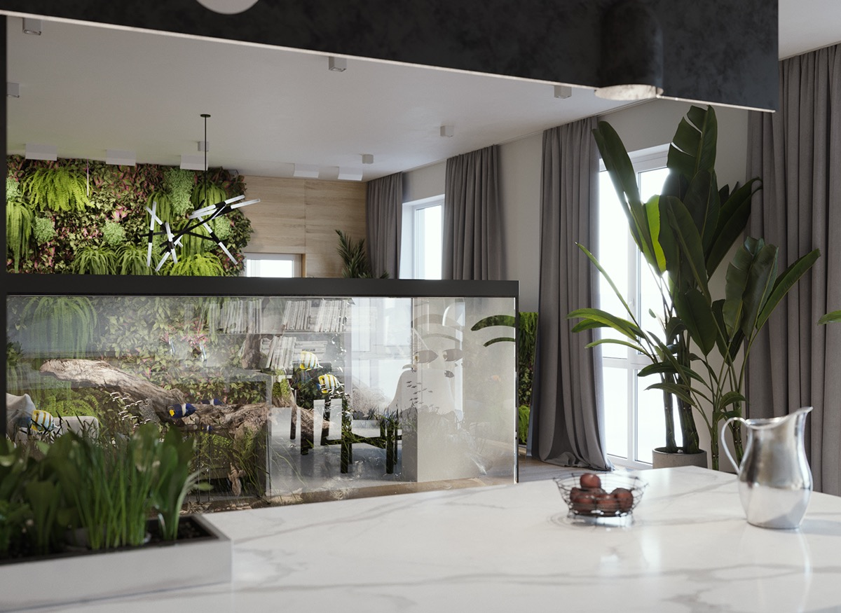 HOME DESIGNING: Minimalist Interior Design with Green ...