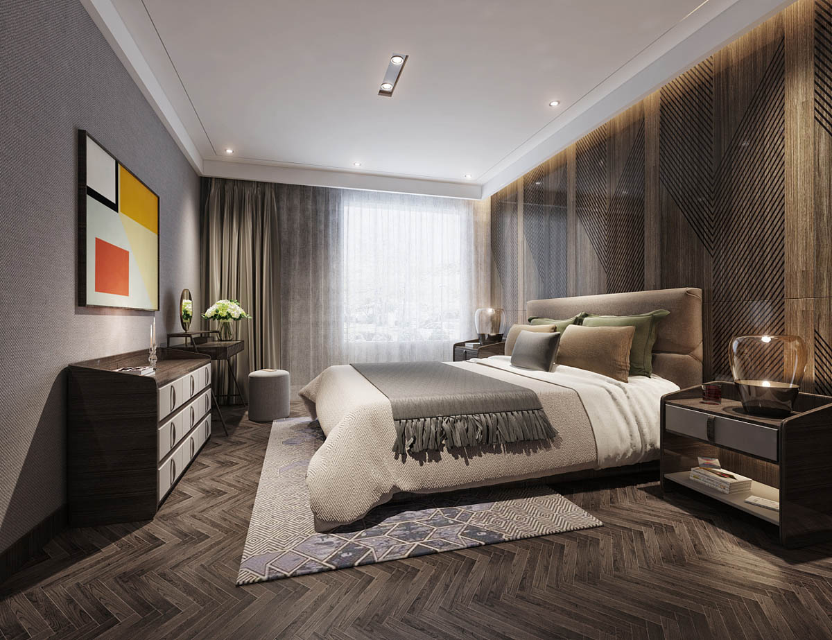 contemporary bedroom accessories modern asian luxury interior design 11188