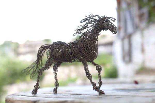 Extraordinary Sculptures Made From Scrap Metal