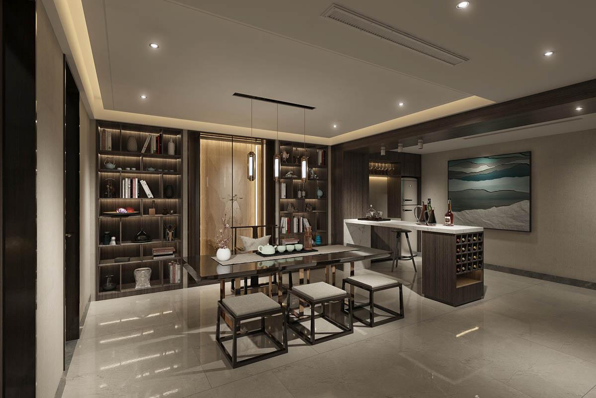 Modern Interior Design: Modern Asian Luxury Interior Design