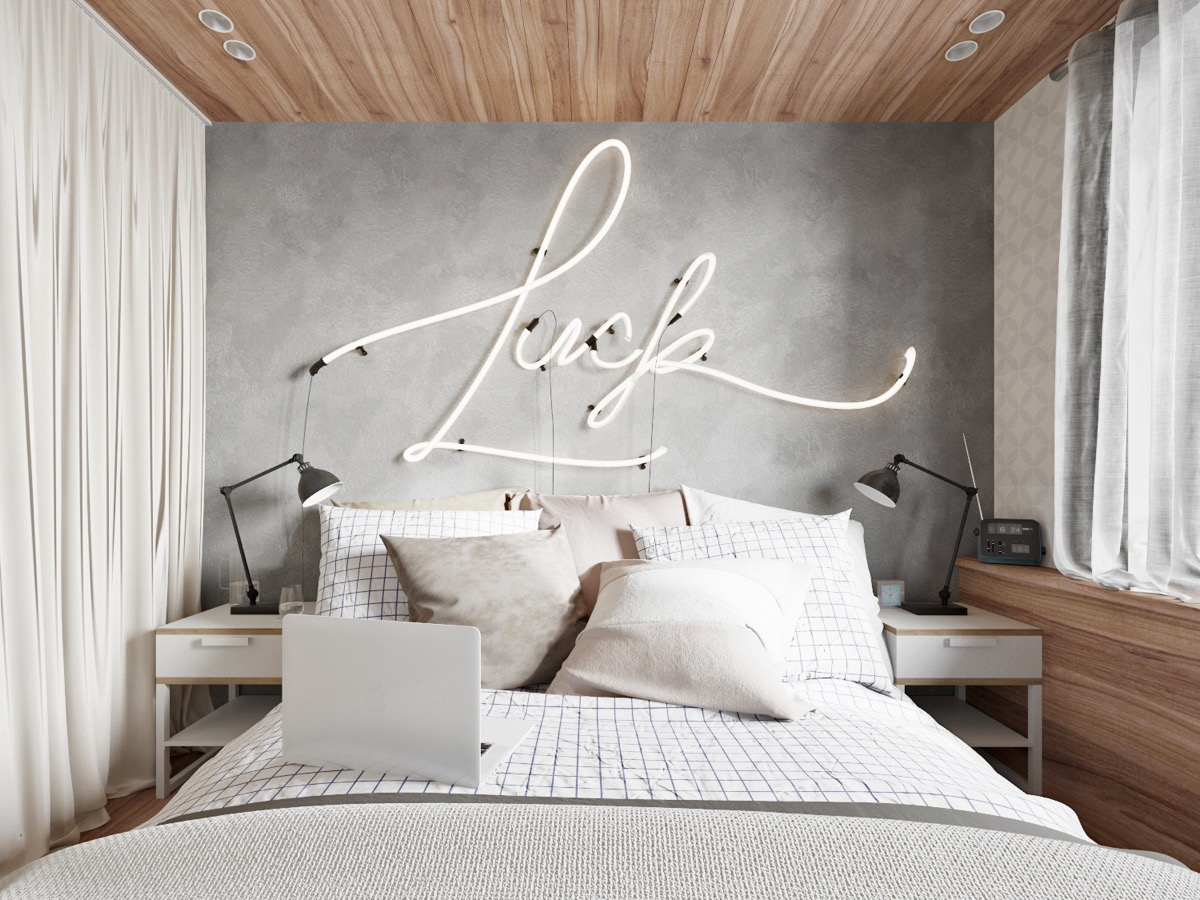 Fantastic 44 Awesome Accent Wall Ideas For Your Bedroom Home Interior And Landscaping Eliaenasavecom