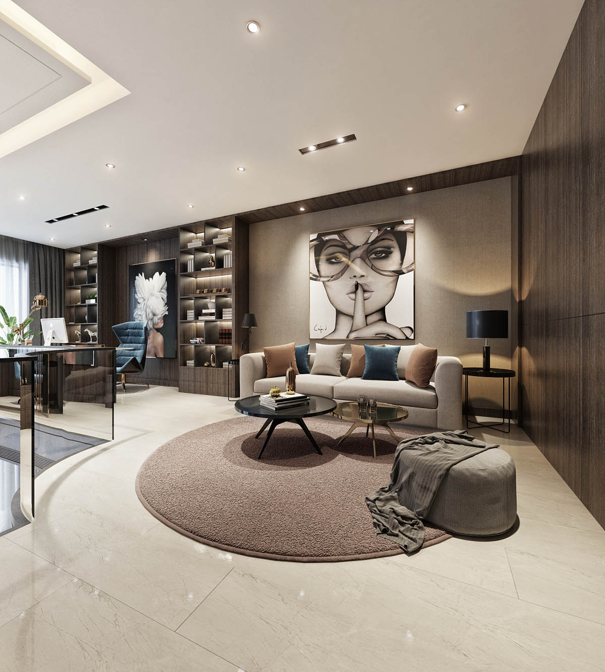 Luxury Home Design: Modern Asian Luxury Interior Design