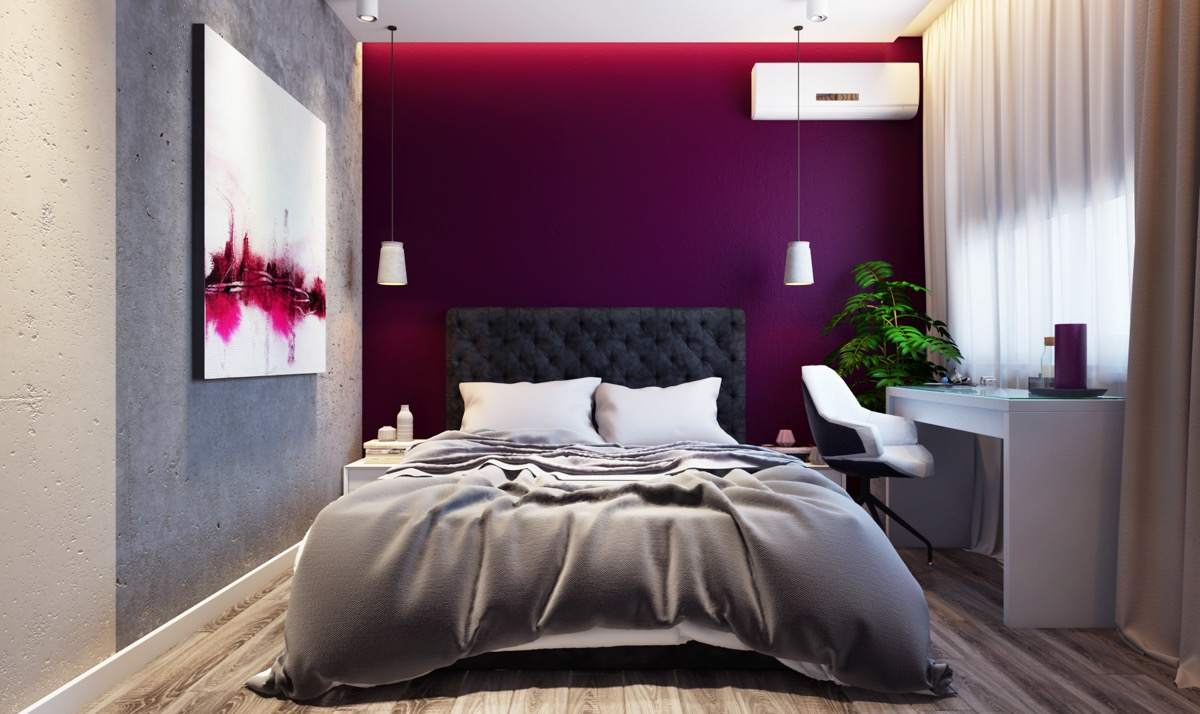 purple feature wall bedroom our home ideas purple feature wall in bedroom psoriasisguru 811
