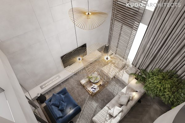 A Luxury Apartment With Comfortable Furniture And A Double Height Ceiling Free Autocad Blocks Drawings Download Center