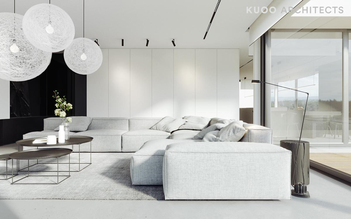 Amazing HOME DESIGNING: Two Modern, Minimalist Homes That Indulge In Lots Of White