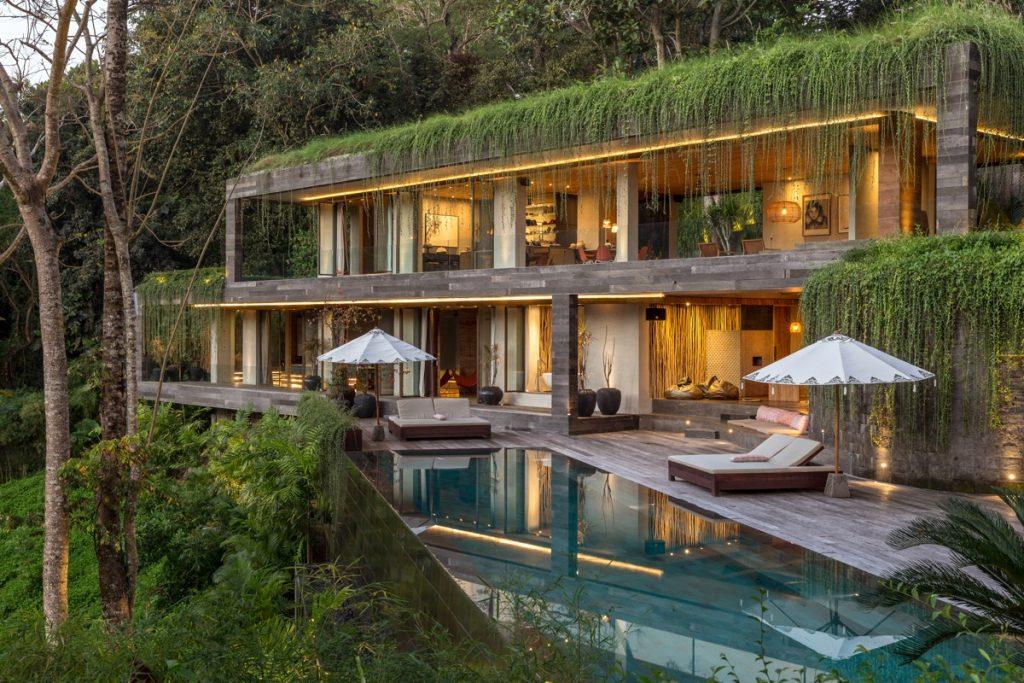 A Bali Jungle Retreat Surrounded By Lush Greenery
