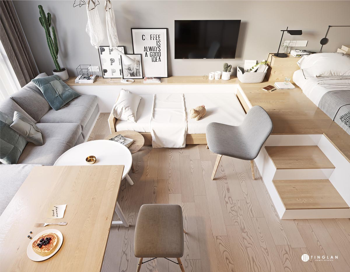 Three Cozy Apartments that Maximize a Small Space