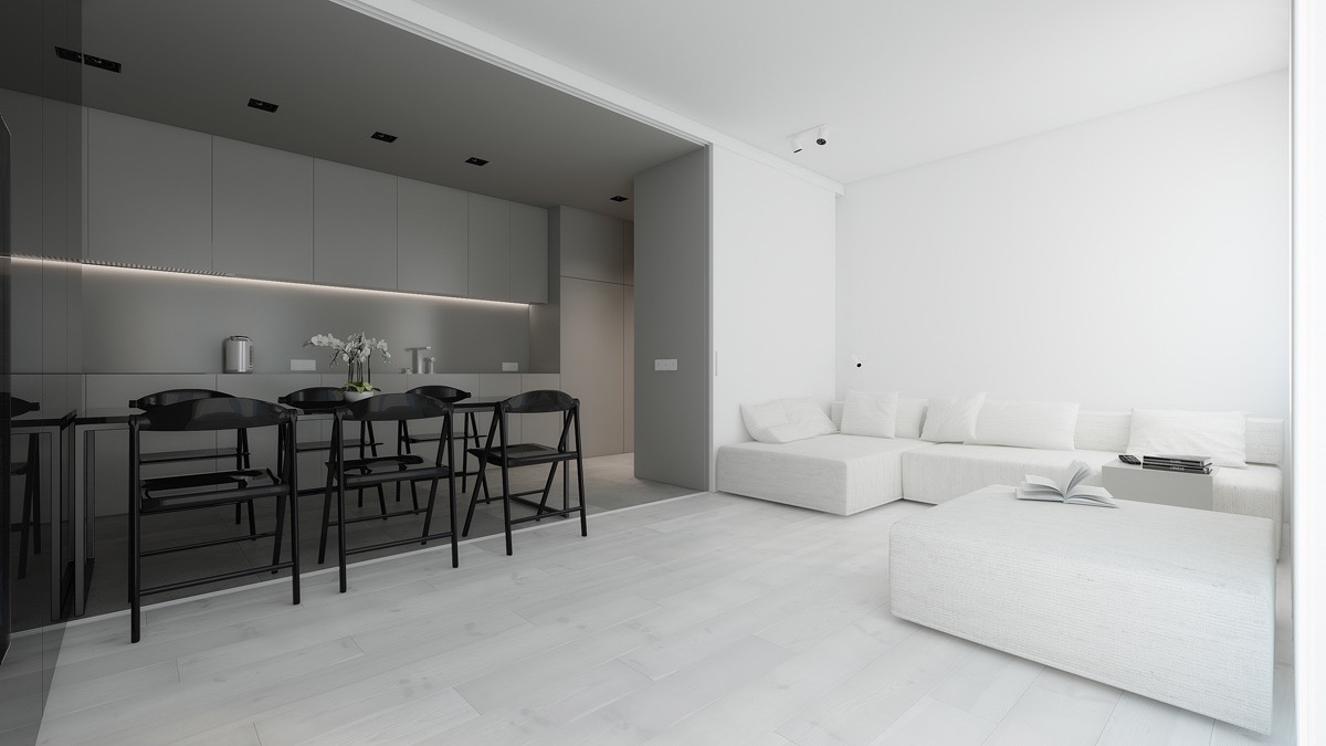 40 Gorgeously Minimalist Living Rooms That Find Substance