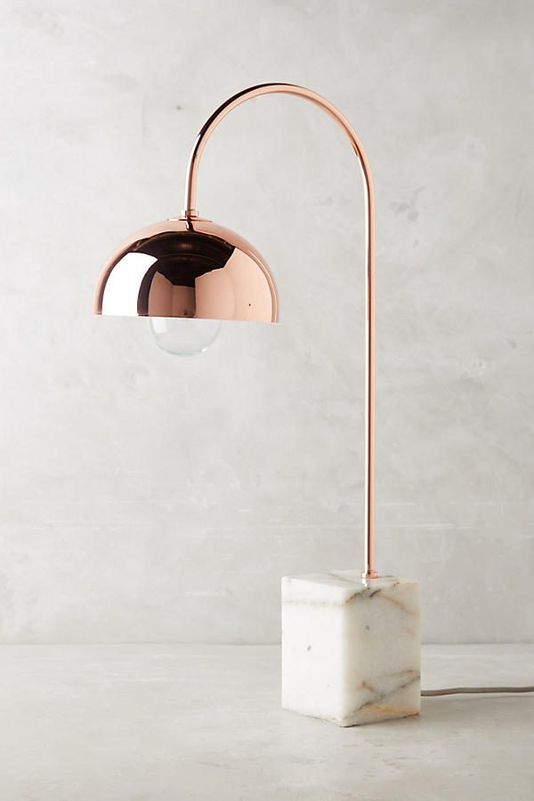 36 Cool Copper Table Lamps To Warm Up Your Interior