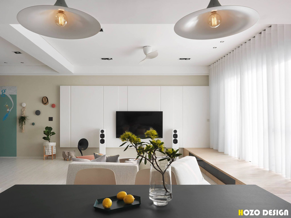 HOME DESIGNING: A Bright Home to Give a Family a Taste of ...