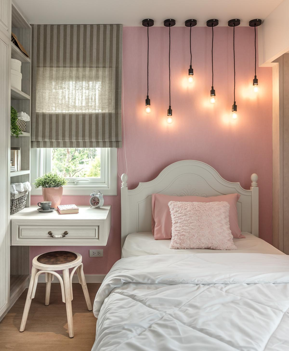 pink bedroom ideas a sprawling modern home in bangkok 5955