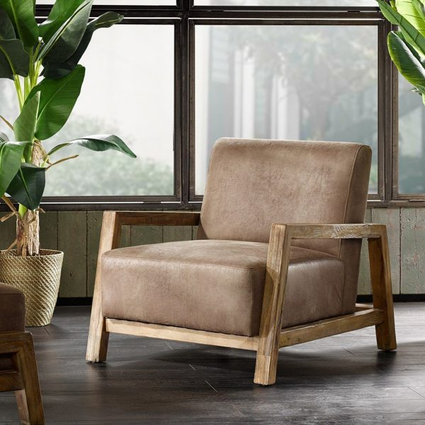 40 Beautiful Modern Accent Chairs That, Accent Chairs With Wooden Arms