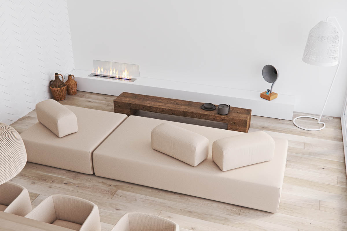 9 Gorgeously Minimalist Living Rooms That Find Substance in