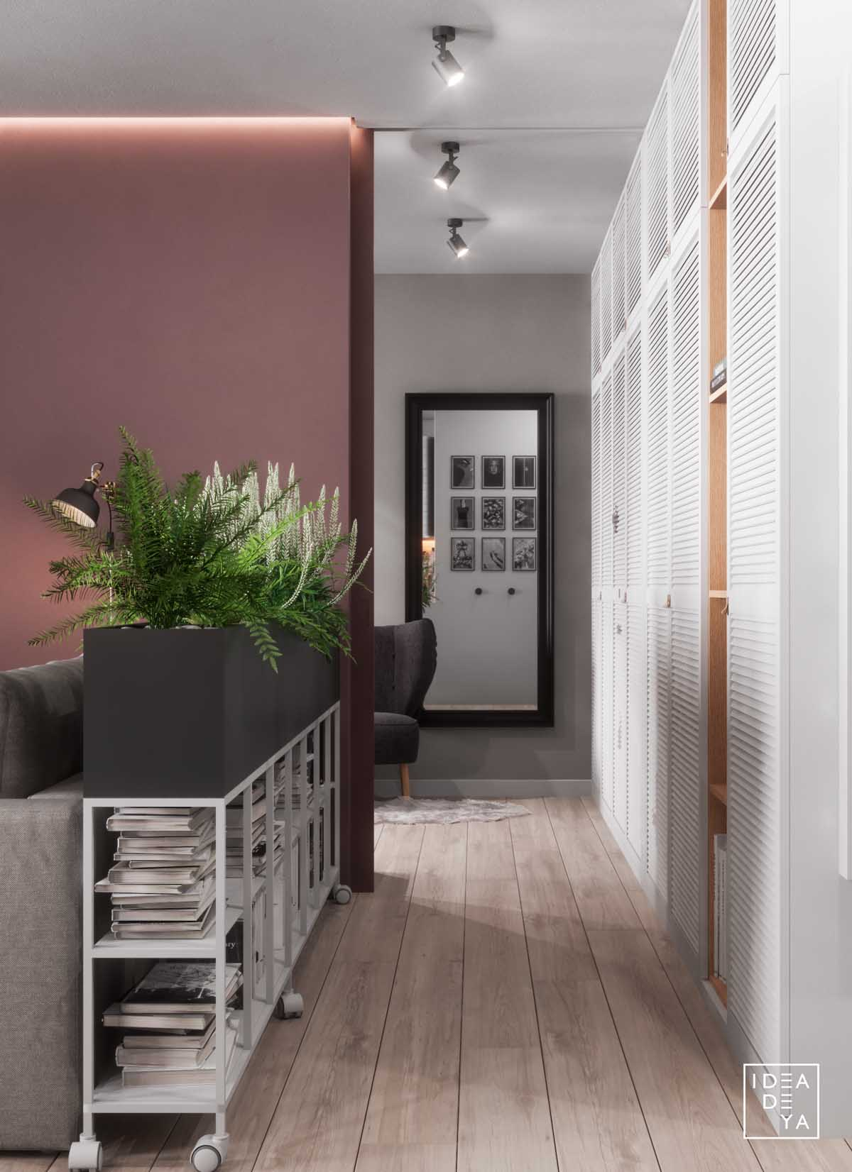 3 Modern Small Apartment Designs Under 50 Square Meters